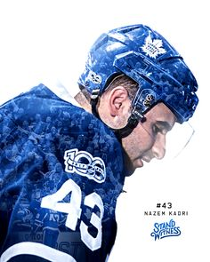 Nazem Kadri - The Season Series June 4 2017 Maple Leafs Hockey, Hockey Teams, Hockey Stuff, Toronto Maple Leafs, Montreal Canadiens, American Football, Leaves, Seasons, Stanley Cup