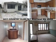 GREAT BUY! LOCATED NEAR THE MOORHEAD COUNTRY CLUB | 56560 |LISTED BY JEFF SHIPLEY 701-491-9010 | 2411 COUNTRY CLUB PKY Moorhead MN 56560 | Price: $104,300 | Est. Monthly Payment: $447.92 | Listing ID: 14-5262 | 3 Bedrooms | 2 Full Baths | 1,040 Square Ft