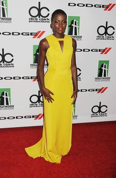 What will Lupita Nyong'o wear to the Golden Globes?