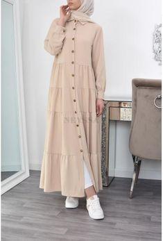 Long Skirt Fashion, Modest Fashion Hijab, Abaya Fashion, Muslim Women Fashion, Islamic Fashion, Mode Abaya, Mode Hijab, Mode Turban, Girls Dresses Sewing