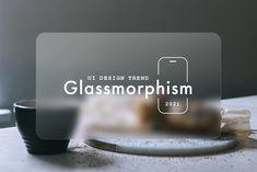 2021年UIデザイントレンド「グラスモーフィズム(Glassmorphism)」を表現するときの5つのヒント | デザインメモ 2.0 Ios Ui, Ui Ux, Web Design, Design Trends, User Flow, Creative, Design Web, Website Designs, Site Design