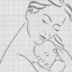 Новини Cross Stitch Family, Cross Stitch Alphabet, Cross Stitching, Cross Stitch Embroidery, Cross Stitch Patterns, C2c, Baby Chart, Stitch 2, Filet Crochet