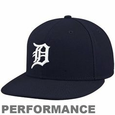 New Era Detroit Tigers 59Fifty On-Field Authentic Youth Fited Hat - Navy Blue/White