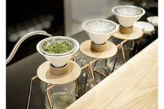 日本茶「green brewing」のブランドストア1号店となる「東京茶寮」