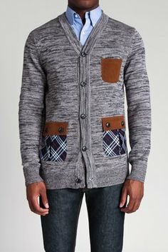 The Utility Cardigan Sweater by Goodale