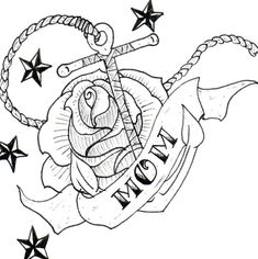 Rose flower and mom tattoo design Cover Tattoo, I Tattoo, Mom Tattoos, Sleeve Tattoos, Brust Tattoo Frau, Japanese Tatoo, Tattoo Mutter, Mom Tattoo Designs, Cars 1