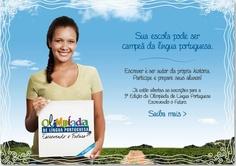 Olimpíada de Língua Portuguesa: inscrições abertas até 25 de abril