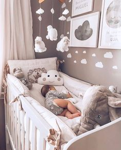30 elegant modern nursery design and decor ideas for babies # baby . 30 elegant modern nursery design and decor ideas for babies # baby . Baby Nursery Decor, Baby Bedroom, Baby Boy Rooms, Baby Boy Nurseries, Baby Decor, White Nursery, Baby Nursery Ideas For Girl, Room For Baby Girl, Unisex Nursery Ideas