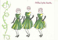 Costume Design for Little Shop of Horrors