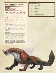 Red Drake Behemoth
