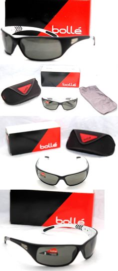 0559e44e62 Sport Protective Eyewear 158938  Bolle Recoil Golf Sunglasses Polarized  Shiny Matte Black White Arrow Free