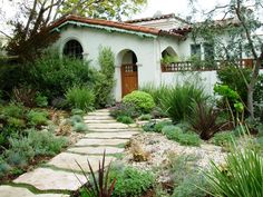modern gardens pictures | of Comfort Zones Landscape Design created a sustainable front garden ...