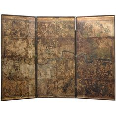 Original Map of London by John Roque, 1741-1745 | From a unique collection of antique and modern wallpaper at https://www.1stdibs.com/furniture/wall-decorations/wallpaper/
