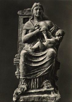 Isis mit dem Horuskind