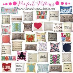 Pretty Pillows!