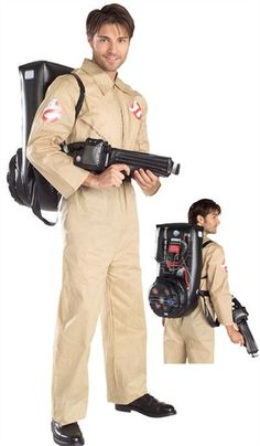 Official Ghostbusters Costume £33.99 : Direct 2 U Fancy Dress, Superstore. Fancy Dress, Party Themes & Accessories For The Whole Family. http://direct2ufancydress.com/official-ghostbusters-costume-p-4970.html