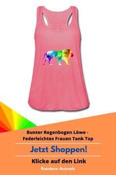Rüste dich für die warme Sommerzeit mit diesem hübschen Damen-Top! Lasse dir unser Löwen-Design oder weitere Tier-Zeichnungen auf dein Shirt oder Tank Top drucken. DIY und gestalte dein eigenes Produkt! #Löwe #Top #Damenmode #Modeidee #Design #Tierdesign #Tiere #Damenstile #Stile #ootd #oftd