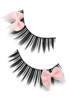 73a9e6a19d2 Look at Bows Eyes Lashes in Pink. Tie your date in knots with a bewitching
