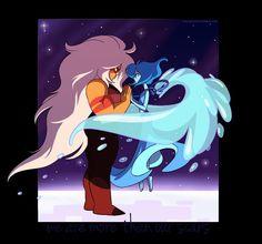 Steven universe lapis and jasper