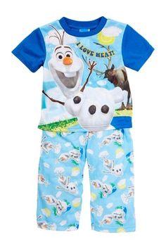 Frozen Olaf Pajama Set (Toddler Boys)