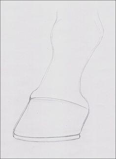 Drawing of Horse Hoof                                                                                                                                                                                 More
