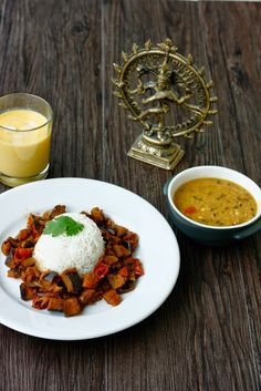 transglobal pan party: BRINJAL CURRY - INDISCHES AUBERGINENCURRY