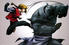Edward Elric & Alphonse Elric - Fullmetal Alchemist