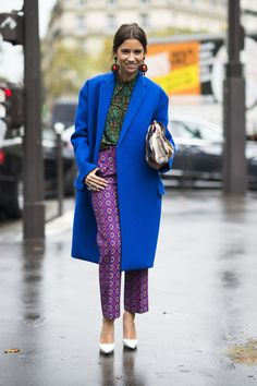 These beautiful, bold colors and prints are amazing together