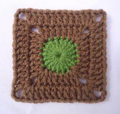 Stitch of Love: Crochet Granny Square   http://lovestitches.blogspot.com/search/label/Crochet%20Granny%20Square