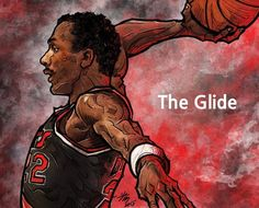 Clyde Drexler aka The Glide earned his nickname as part of the famed University of Houston Phi Slama Jama squad.