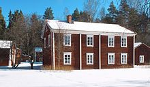 Pohjalaistalo – Wikipedia Scandinavian Home, Finland, My House, Shed, Exterior, Outdoor Structures, Cabin, Traditional, House Styles