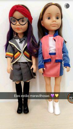 Novas bonecas Cúmplices de um Resgate - Manoela e Isabela