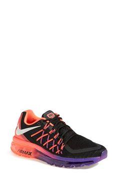 Nike 'Air Max 15' Running Shoe in Black/Hyper Punch   Nordstrom