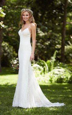 modern Stella York Wedding Dress