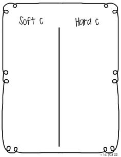 What Happens In First....Stays in First!: Soft C/Hard C
