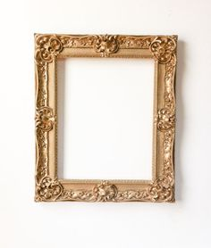 Large Vintage Gold Frame Photo Booth Prop Filigree by RetroTiles #photo shoot #photography prop #wedding picture