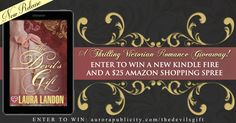 To Celebrate THE DEVIL'S GIFT, a thrilling Victorian romance from best-selling author Laura Landon, we're giving away a Kindle Fire and a $25 Amazon ebook shopping spree!    THE DEVIL'S GIFT is one of 25 brand new releases marked by the Union Jack Heart logo, and coming to fans of historical romance all year long. After winning the Kindle, the winner can then pick any ebook marked by the Union Jack Heart to buy as part of their $25 Amazon shopping spree…