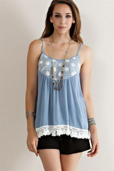 Blue Skies Top. $32.00 FREE DOMESTIC SHIPPING. theeclecticpeach.com