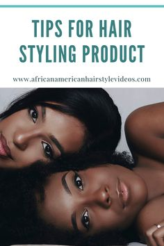 Best Tips for Successful Curly Natural Hair Styling Product Selection Natural Hair Growth, Natural Hair Styles, Natural Hair Treatments, African American Hairstyles, Shiny Hair, Damaged Hair, Hair Videos, Beautiful Black Women, Black Hair