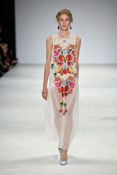 more from Alice McCall's MBFW collection, 'babooshka'. Just amazing.