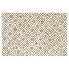 Check out this item at One Kings Lane! Jennings Rug, Taupe/Ivory