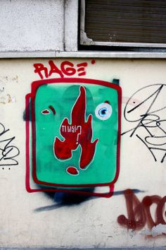 Plamen / RAGE / Dorćol #BeogradskiGrafiti #StreetArt #Graffiti #Beograd #Belgrade #Grafiti