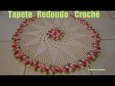Passo a passo Tapete Redondo Crochê Gisele (+lista de reproducción)