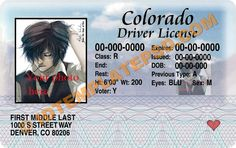 This is Colarado (USA State) Drivers License PSD (Photoshop) Template. On this PSD Template you can put any Name, Address, License No. DOB etc and make your personalized Driver License.  You can also print this Colarado (USA State) Drivers License from a professional plastic ID Card Printer and use as per your requirement.
