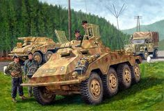 German Armored Car: Sdkfz-234/1