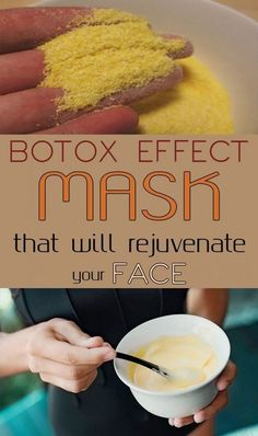 Botox Effect Mask That Will Rejuvenate Your Face Want to give your skin a real lift, without going to an MD? Try this natural face mask to look younger. Beauty Care, Diy Beauty, Beauty Skin, Health And Beauty, Beauty Ideas, Face Beauty, Healthy Beauty, Homemade Mask, Homemade Beauty