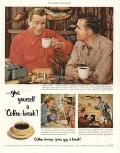 vintage coffee ads | Fly Fishing | Blog | Photos | Podcasts | Travel | Gear | and More ...
