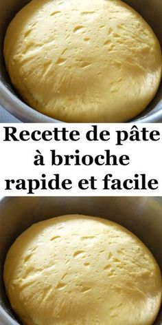 Here& how to make your homemade brioche dough easily. - Here& how to make your homemade brioche dough easily. Thermomix Desserts, Dessert Recipes, Homemade Brioche, Desserts With Biscuits, Homemade Pancakes, Cooking Bread, Banana Bread Recipes, Dough Recipe, Healthy Breakfast Recipes
