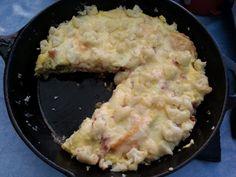 Ravioli Blumenkohl Frittata | Küchentigers Rezepte Blog