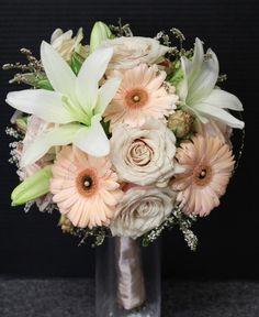 Lilies, Roses & Gerberas